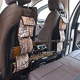 mydays Seat Back Gun Rack, Gun Sling Bag, Camo Front Seat Gun Organizer Holder for Hunting Rifles/Shotguns