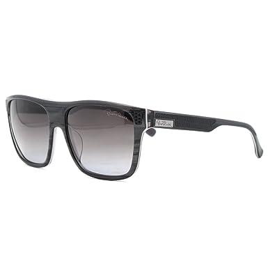4a69b98a8b Roberto Cavalli RC Begonia 593S S 20B Classic Grey Wayfarer Sunglasses   Amazon.co.uk  Clothing