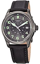 Victorinox Men's 241518 Infantry Analog Display Swiss Automatic Black Watch