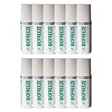 Biofreeze Pain Relief Gel for Arthritis, 3 oz. Roll On, Colorless Formula, Case of 12, 4% Menthol