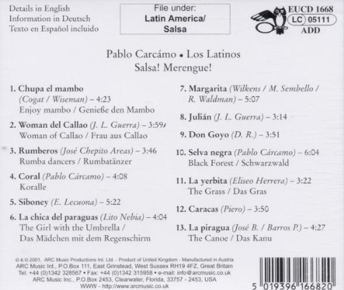 - Salsa Merengue: Que Sera, Siboney, Woman del Calla - Amazon.com Music