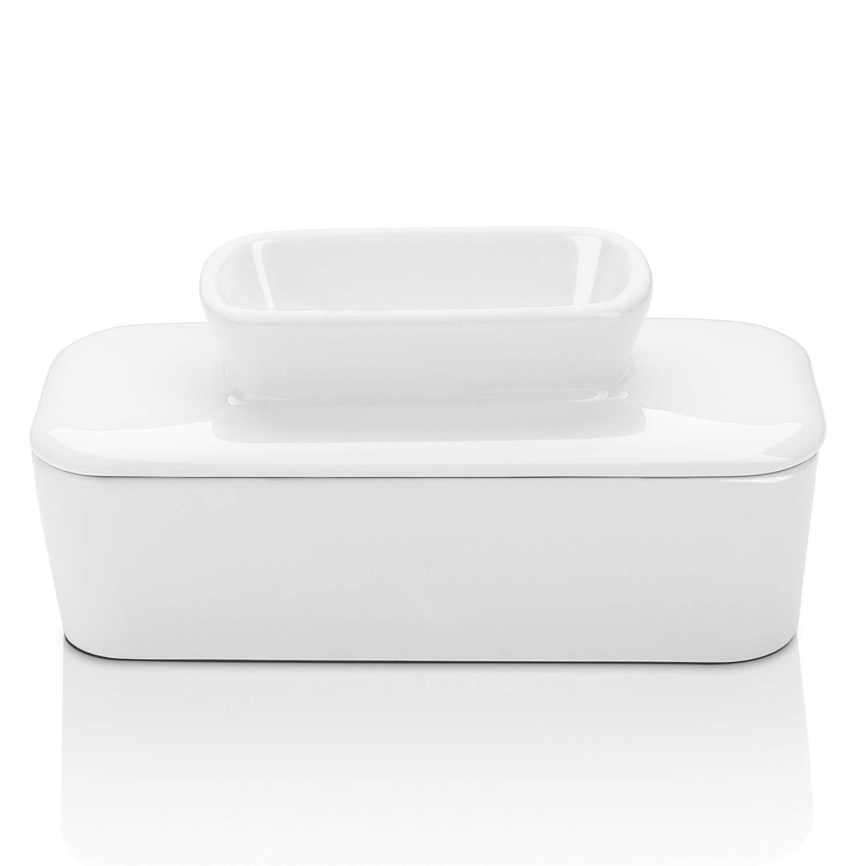Amazon.com: Sweese - Mantequera de porcelana con agua ...