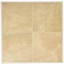 MINTCRAFT CL3681 Inlay Vinyl Floor Tile, Beige