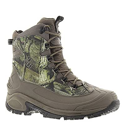 Columbia Men's Bugaboot Snow Boot (7 D(M) US, Mossy Oak/Mud)
