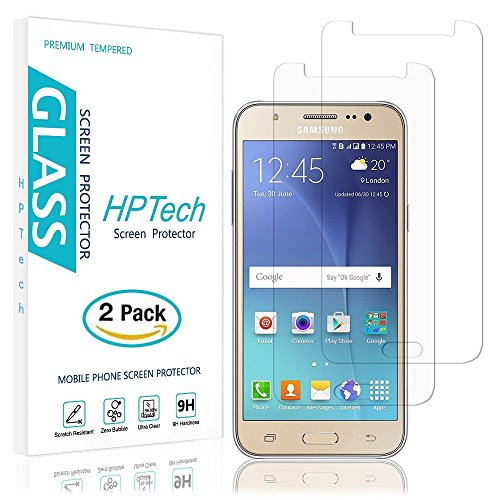 Tempered Glass for Samsung Galaxy J7 (Clear) - 1