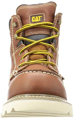 Caterpillar Mens Alloy Work Boot Yellow/Tan TKE4J8Qph