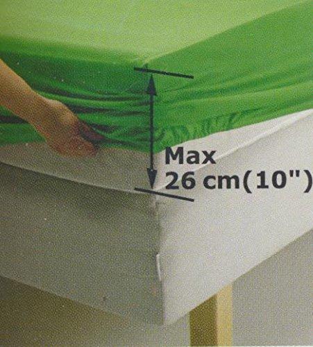 Ikea Dvala Beige Fitted Sheet 100% Cotton, Queen COMIN16JU004726