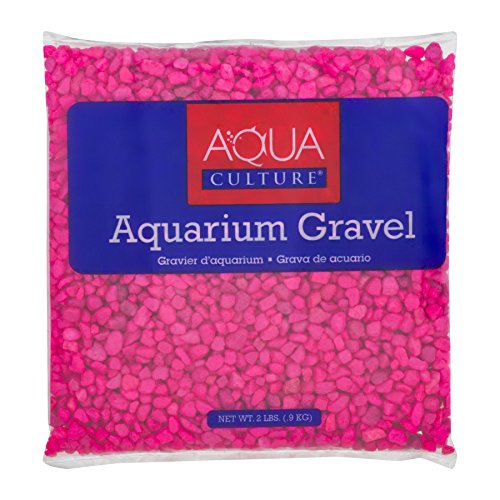 - Aqua Culture Aquarium Gravel Pink, 2.0 LB