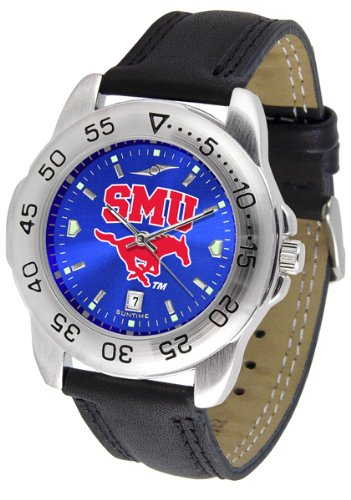 Southern Methodist Mustangs Sport AnoChrome Men's Watch