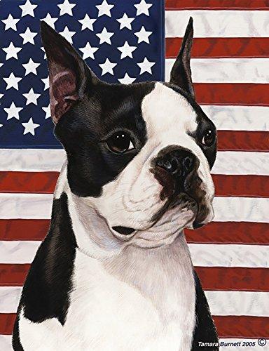 Boston Terrier - Best of Breed Patriotic II Garden Flag