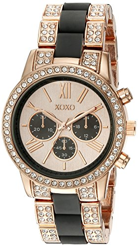 XOXO Women's Quartz Metal and Alloy Automatic Watch, Color:Rose Gold-Toned (Model: XO5916)