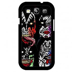 America Famous Music Band Kiss Style Rough Design Case For Samsung Galaxy S3,A Good Gift To Friends