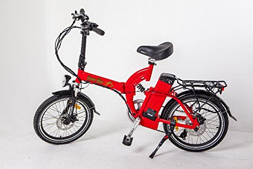 Greenbike USA GB FS5 Full Suspension Folding Electric Bike