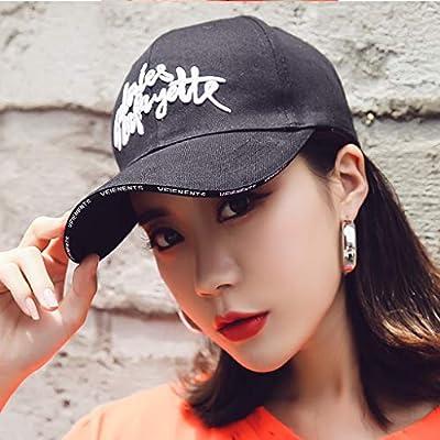 PLL Gorra de béisbol Bordada de Ocio Lady Summer Versión Coreana ...