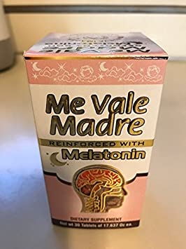 Amazon.com: ME VALE MADRE PILLS REFORZADA CON MELATONINA: Health & Personal Care