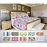 The CONNECTICUT HOME COMPANY Luxury Quilt Collection, Reversible, Top Choice by Decorators, Many Sizes and Patterns, All Season Weight, Machine Washable (Piper - Twin)