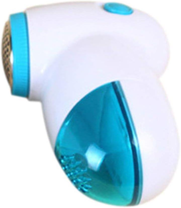 Blu Tree-on-Life Mini Sfera per peli di Pelliccia Trimmer per peli di Lana Rimozione di lanugine Rimozione di peli di Capelli Macchina per la rimozione di Pelucchi per Uso Domestico
