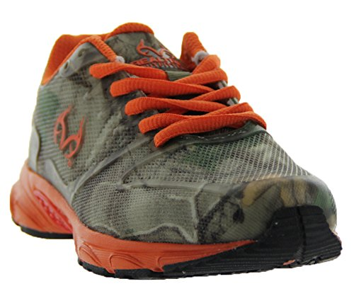Boy's Realtree Outfitters by Realtree, Cobra Hiking Shoe,4 M US Big Kid,Orange