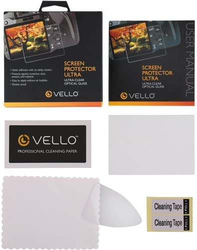D4s D750 /& D810 Camera Vello LCD Screen Protector Ultra for Nikon Df D610 3 Pack D7200 D7100