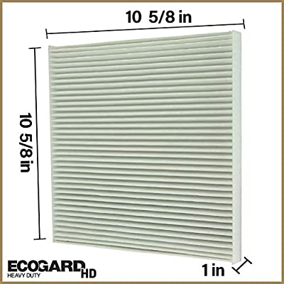 ECOGARD XC10606HD Premium Heavy Duty Truck Cabin Air Filter Fits Freightliner Cascadia 2008-2020, Century Class 1996-2011, Columbia 2000-2015, Coronado 2001-2020: Automotive