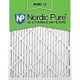 16x25x2 MERV 13 AC Furnace Filter Qty 12
