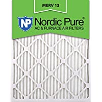 16x25x2 MERV 13 AC Furnace Filter Qty 12