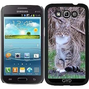 Funda para Samsung Galaxy Win GT-I8552 - Gato Gris by Marina Kuchenbecker