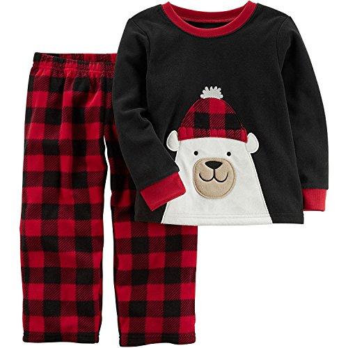 Carter's Boys' Christmas Fleece Pajamas 3T