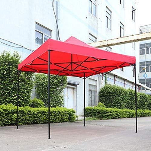 Sombra de Tienda Impermeable 3mx3m Tienda de jardín emergente Gazebo Canopy Marquee Outdoor Shade Market (Rojo) para casa (Color : Red): Amazon.es: Jardín