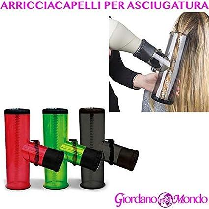 Rizador de pelo profesional con difusor universal para secador Bazooka