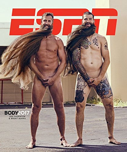 Joe Thornton Cover - ESPN Magazine, July 17 2017 Body Issue [Joe Thornton & Brent Burns Cover]