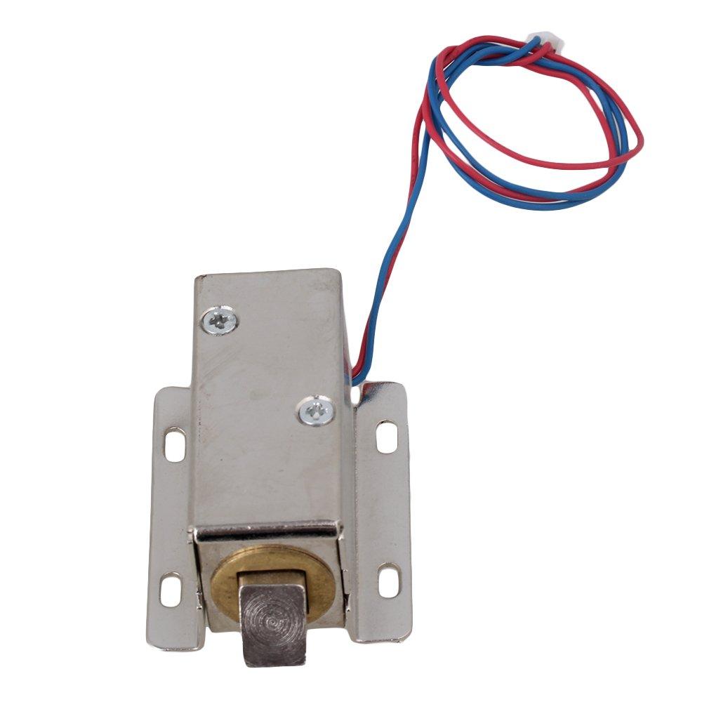 Lock Tongue Upward Luggage Solenoid Electric Lock Assembly 12V TFS-A21 MODEL3