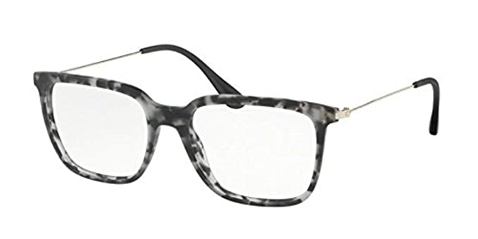 a9c522453d71 Image Unavailable. Image not available for. Colour  Eyeglasses Prada PR 17  TVF VH31O1 MATTE GREY HAVANA