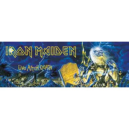 Lpgi Iron Maiden Fabric Door Poster, 20. Life After Death