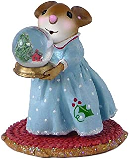 product image for Wee Forest Folk Miniature Mouse Figurine - My Little Snow Globe