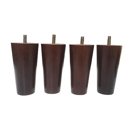 Strange Amazon Com Mj Design Ofa Legs Set Of 4 Round 5 Inch Ibusinesslaw Wood Chair Design Ideas Ibusinesslaworg