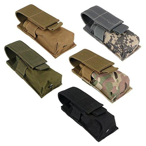 Generic Tactique Sac de Taille Militaire Sac Banane Portable Bouteille d'eau Grande Capacité Sac de Ceinture pour Survie… 5