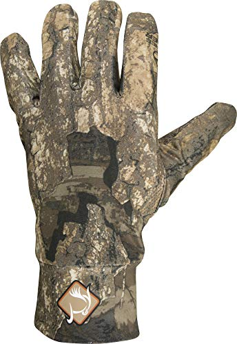 (Ol' Tom Stretch Fit Gloves Polyester Realtree Timber Camo)
