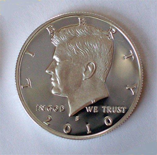 2010 S Kennedy Silver Proof Half Dollar PF-1 US Mint (Proof Half Dollar Kennedy)