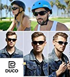 DUCO Polarized Sports Mens Sunglasses for Ski