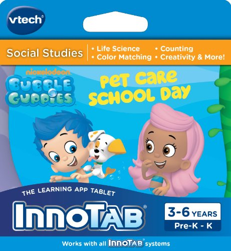 VTech InnoTab Software, Bubble Guppies]()