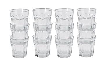 Ikea Gläser ikea 12 gläser pokal schnapsgläser espressotassen 5cl amazon de