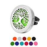 Best Car Air Fresheners - Housweety Car Air Freshener Aromatherapy Essential Oil Diffuser Review