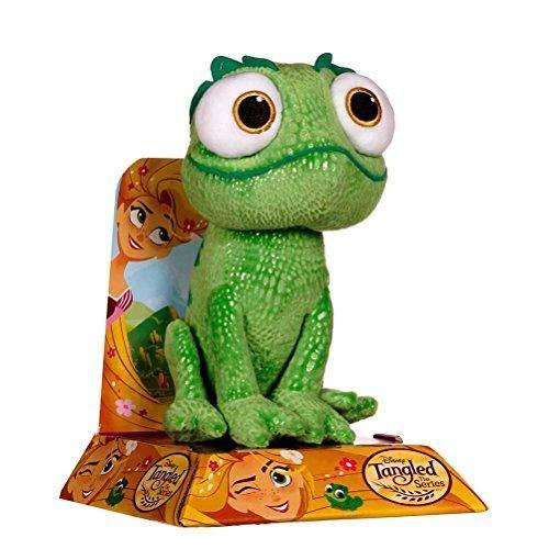 Posh Paws Disney 37059 Tangled Large Pascal Green Chameleon Plush ()