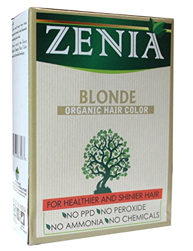 - Zenia Organic Henna Hair Color Blonde 100g