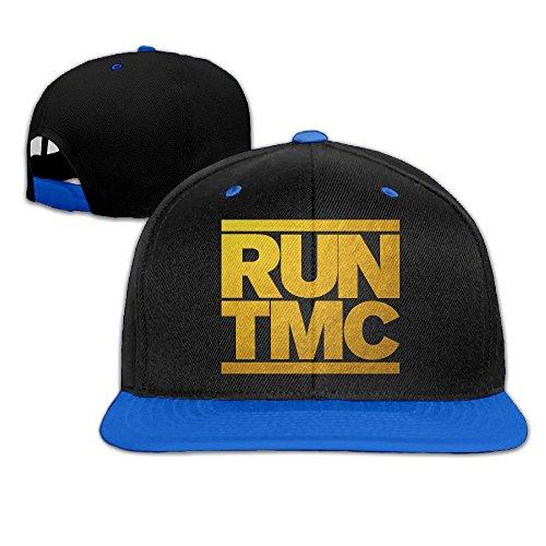 Gold Warriors Curry RUN TMC Hip-Hop Baseball Hats One Size RoyalBlue Unisex