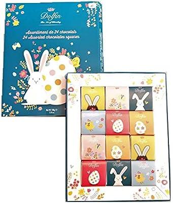 Dolfin Surtido de 24 chocolates Carrè Impresión de Pascua en caja ...