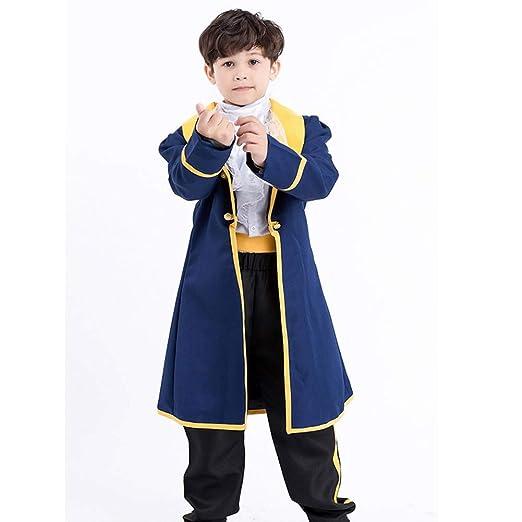 GUAN Ropa de príncipe para niños Disfraz de Halloween para Padres ...
