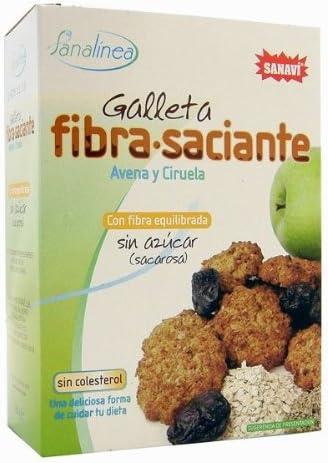 Sanavi Galleta Fibra Saciante Avena Y Ciruela 200 g: Amazon ...