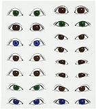 Roylco Eyeball Stickers, Large